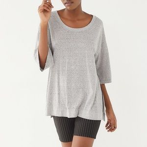 Urban Outfitters Out from Under Grey Side Slit Tee